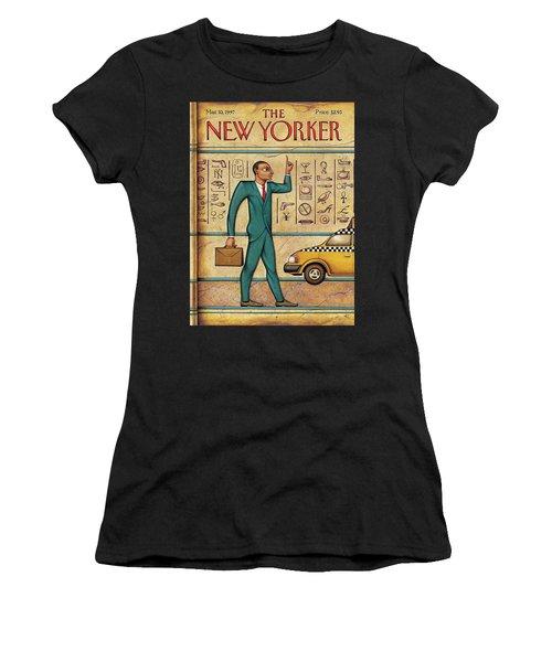 Tuts Taxi Women's T-Shirt