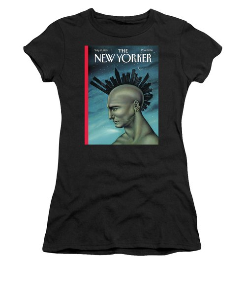 Mohawk Manhattan Women's T-Shirt