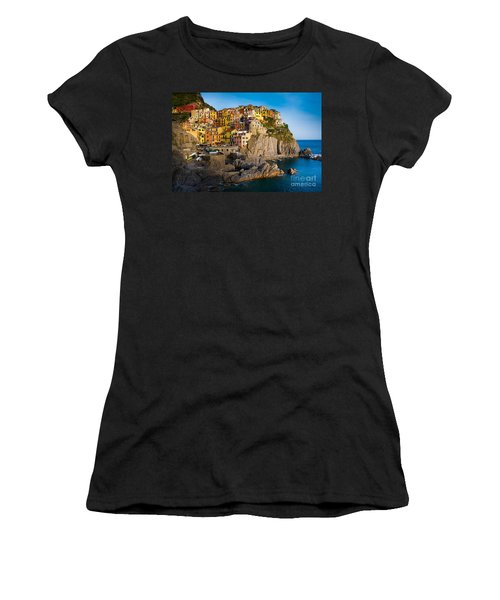 Manarola Women's T-Shirt (Athletic Fit)