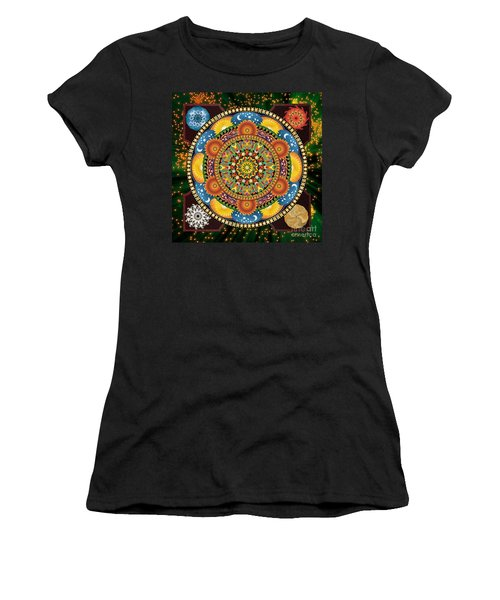 Mandala Elements Women's T-Shirt (Athletic Fit)