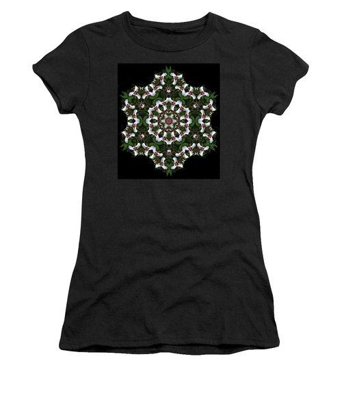 Mandala Trillium Holiday Women's T-Shirt (Athletic Fit)