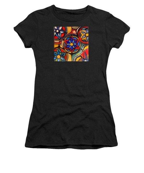 Mandalas Vintage Women's T-Shirt (Athletic Fit)
