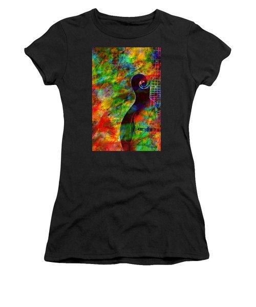Mandolin Magic Women's T-Shirt (Athletic Fit)