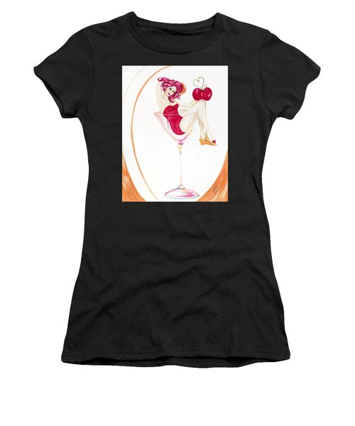 Manhattans With Cheri Women's T-Shirt (Athletic Fit)
