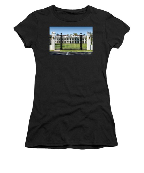 Manresa House Of Retreats In Convent Louisiana Women's T-Shirt (Athletic Fit)