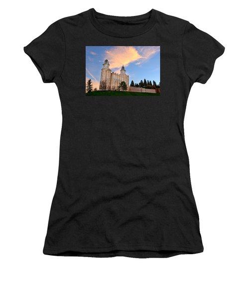 Manti Temple Morning Women's T-Shirt