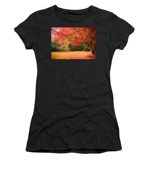 Maple In Red And Orange Women's T-Shirt