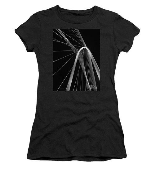 Margaret Hunt Hill Bridge Dallas Texas Women's T-Shirt (Athletic Fit)