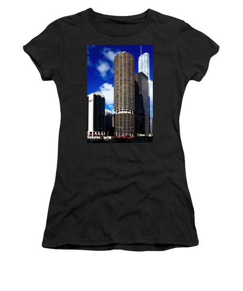 Marina City Corncob Tower Women's T-Shirt