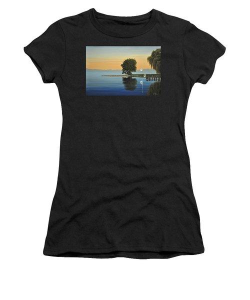 Marina Morning Women's T-Shirt (Athletic Fit)
