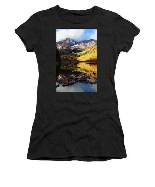Maroon Bells Autumn Women's T-Shirt