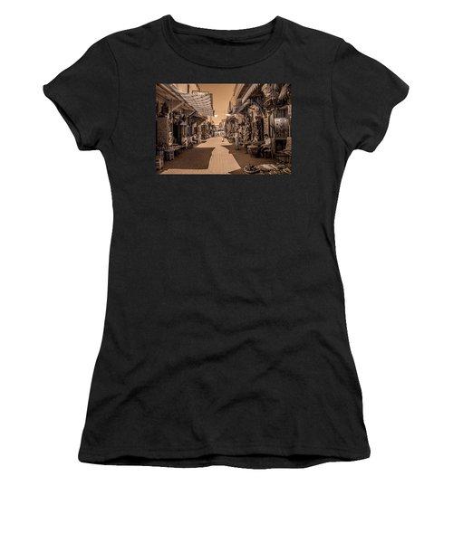 Marrackech Souk At Noon Women's T-Shirt