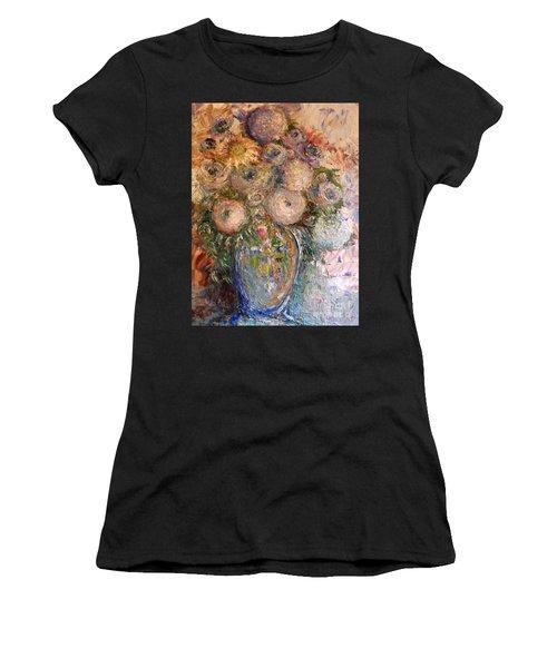 Marshmallow Flowers Women's T-Shirt