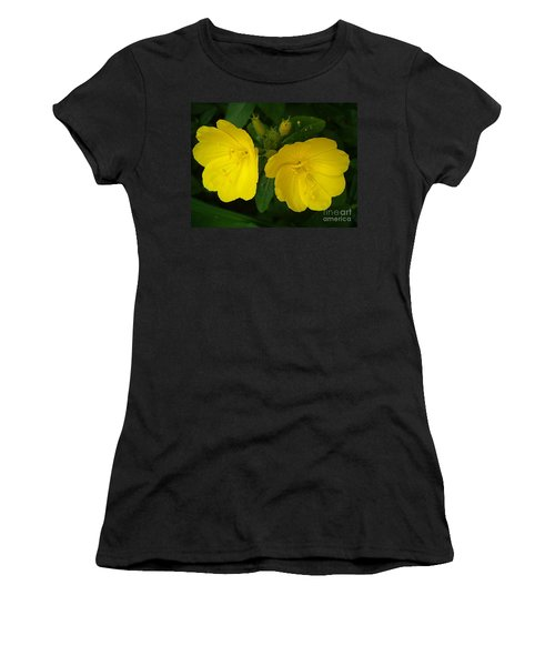 Women's T-Shirt (Junior Cut) featuring the photograph Matching Pair by Sara  Raber