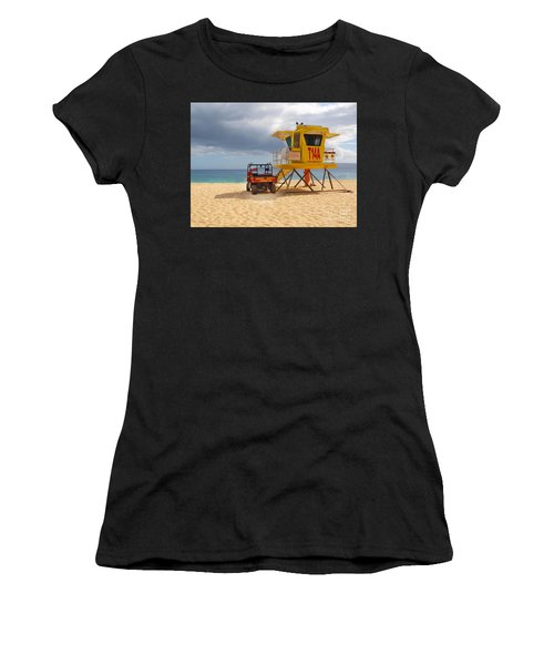 Maui Lifeguard Tower Women's T-Shirt