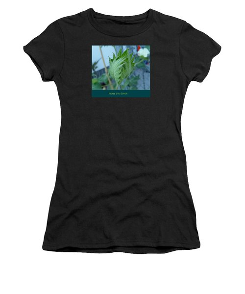 May Peace On Earth Women's T-Shirt (Athletic Fit)