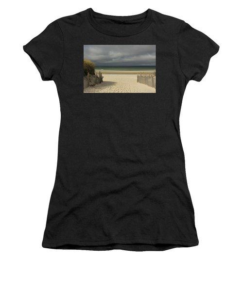 Mayflower Beach Storm Women's T-Shirt