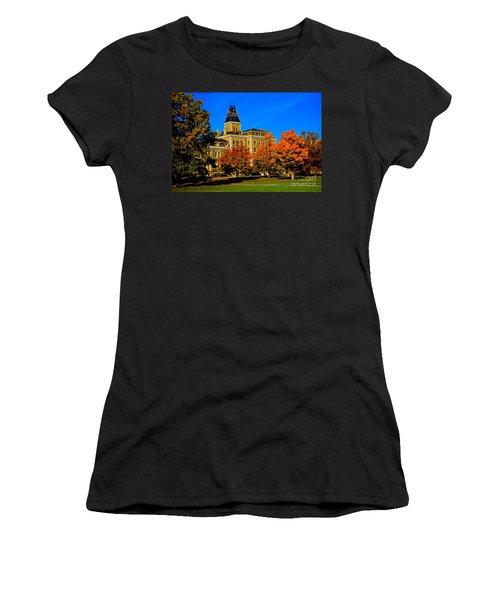 Mcgraw Hall Cornell University Women's T-Shirt