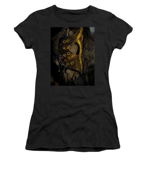 Medieval Stallion Women's T-Shirt (Junior Cut) by Wes and Dotty Weber