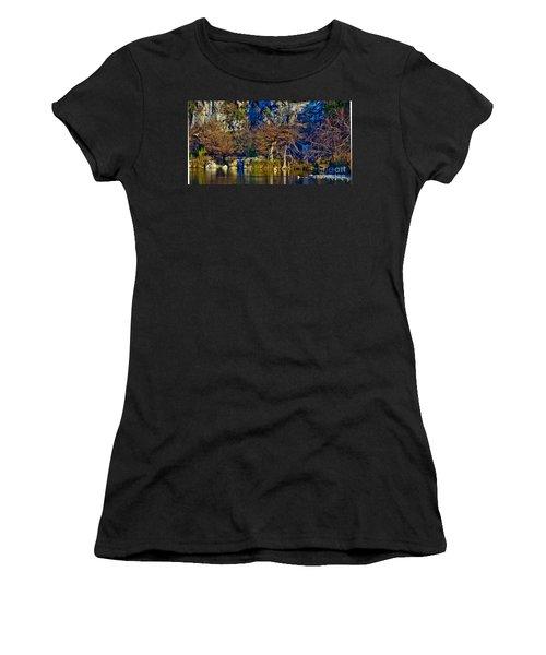 Medina River At Comanche Cliffs Women's T-Shirt