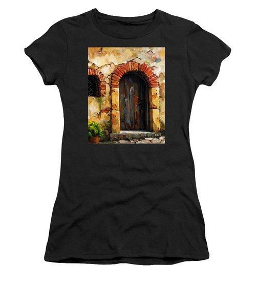 Mediterranean Portal 02 Women's T-Shirt (Athletic Fit)