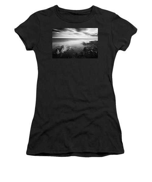 Women's T-Shirt featuring the photograph Mediterranean Sunset / Tunisia by Barry O Carroll