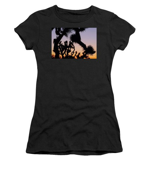 Women's T-Shirt (Junior Cut) featuring the photograph Meet And Greet by Angela J Wright