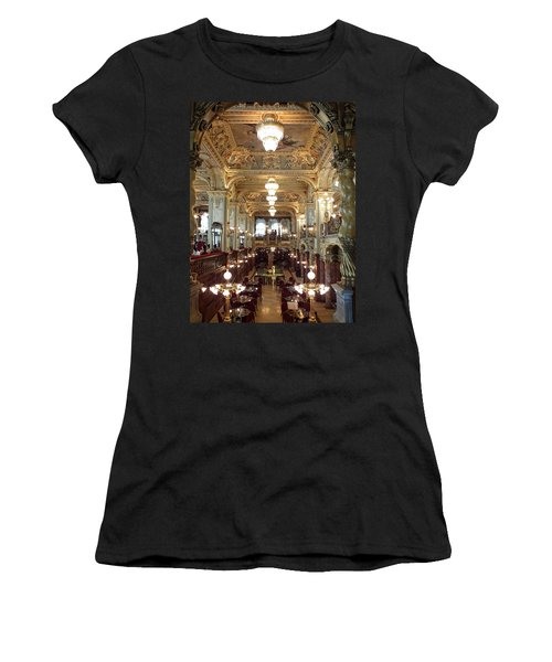 Meet Me For Coffee - New York Cafe - Budapest Women's T-Shirt