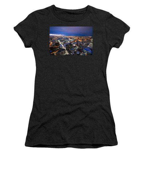 Melbourne At Night Women's T-Shirt