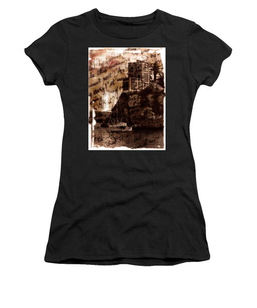 Memories By The Sea Women's T-Shirt (Junior Cut) by Pedro Cardona