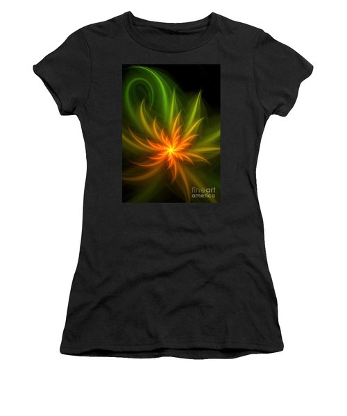 Women's T-Shirt (Junior Cut) featuring the digital art Memory Of Spring by Svetlana Nikolova