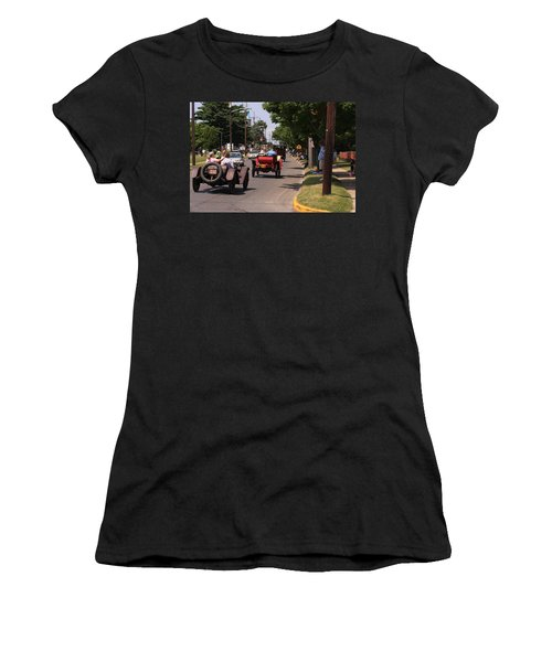 Mercers On Parade Women's T-Shirt (Athletic Fit)