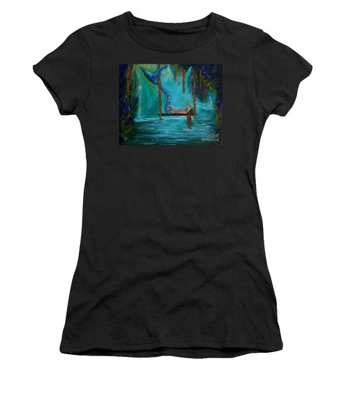Mermaids Tranquility Women's T-Shirt (Athletic Fit)