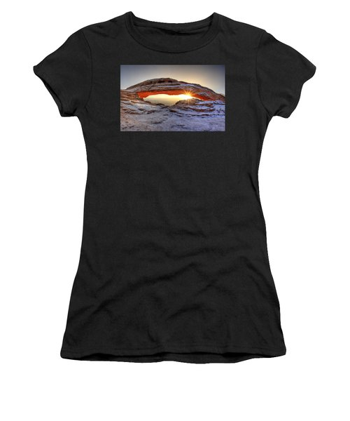 Mesa Sunburst Women's T-Shirt (Athletic Fit)