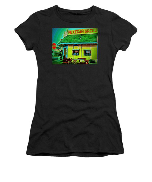 Mexican Grill Women's T-Shirt (Athletic Fit)