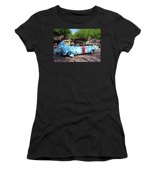 Women's T-Shirt (Junior Cut) featuring the photograph Mgm Aladdin by David Nicholls