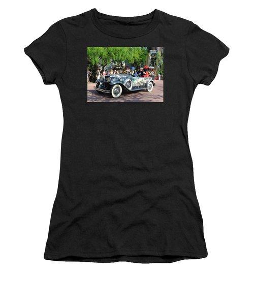 Women's T-Shirt (Junior Cut) featuring the photograph Mgm Famous 4 by David Nicholls