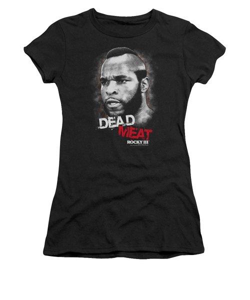 Mgm - Rocky IIi - Dead Meat Women's T-Shirt
