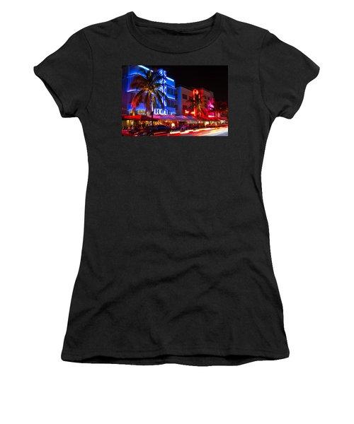 Miami Beach Ocean Drive Women's T-Shirt