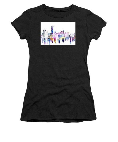 Miami Skyline Women's T-Shirt (Athletic Fit)