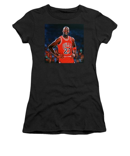 Michael Jordan Women's T-Shirt