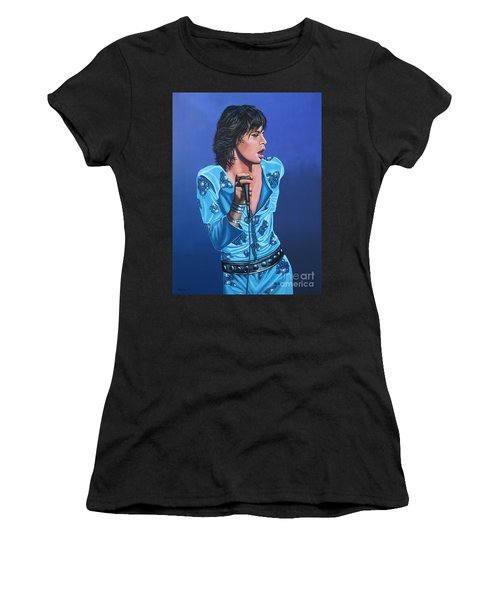 Mick Jagger Women's T-Shirt