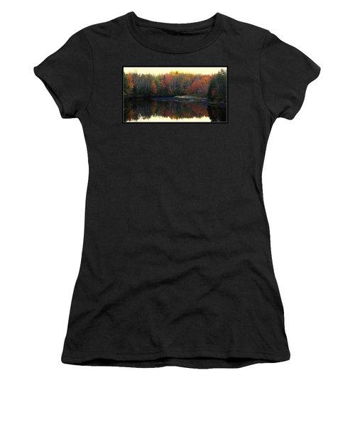 Mill Damm Women's T-Shirt (Junior Cut) by Jason Lees