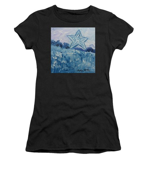 Mill Mountain Star Women's T-Shirt (Athletic Fit)