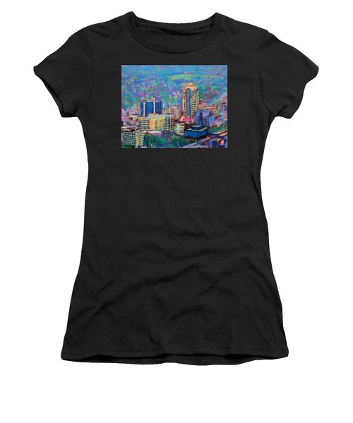 Mill Mountain View Women's T-Shirt (Athletic Fit)