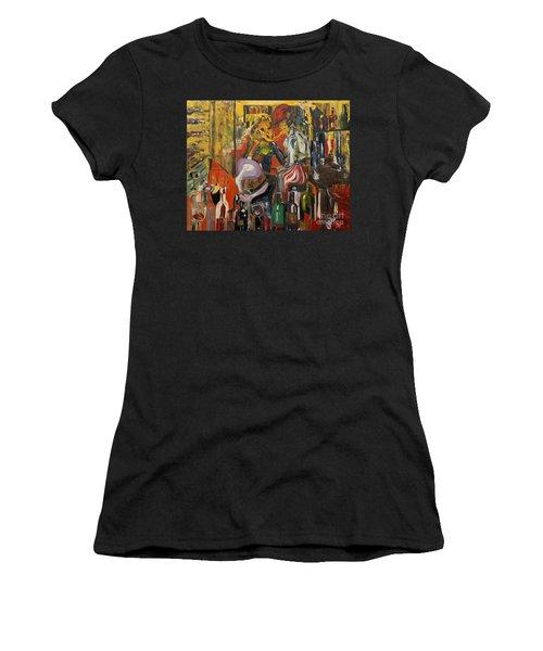 Mind That Hot Tea Women's T-Shirt