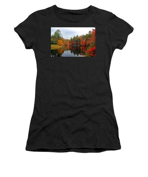 Mirrored Lake Women's T-Shirt