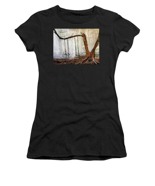 Missing Children Women's T-Shirt (Junior Cut) by Marilyn  McNish
