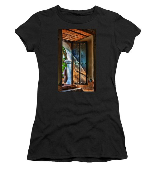 Mission Door Women's T-Shirt (Athletic Fit)