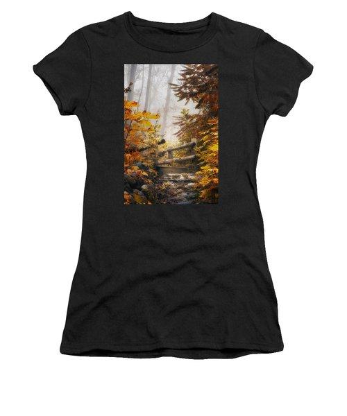 Misty Footbridge Women's T-Shirt